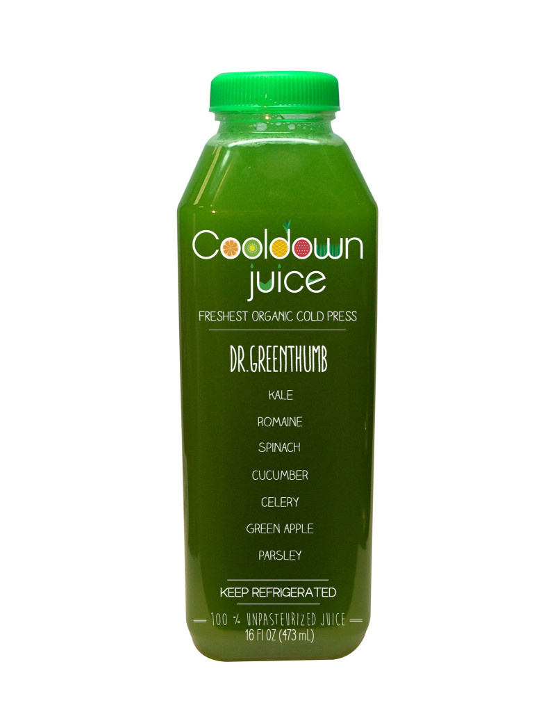 Dr. Greenthumb Cold Press Juice