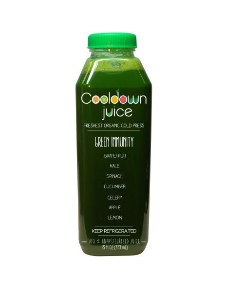Green Immunity Cold Press Juice