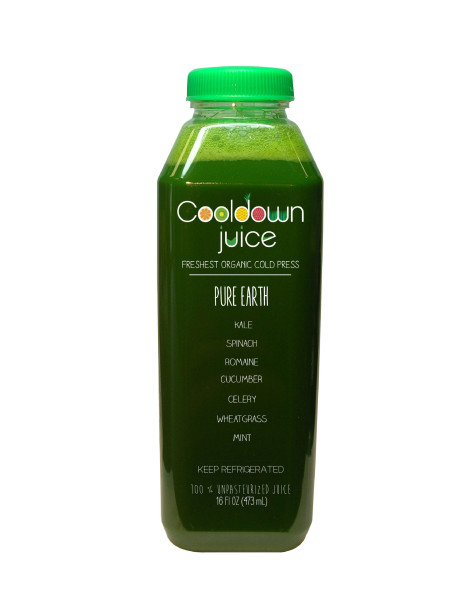 Pure Earth Cold Pressed Juice